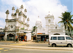 Moschee und Town Hall in Colombo.